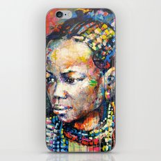 She - portrait of a beautiful woman iPhone & iPod Skin