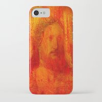 jesus iPhone & iPod Cases featuring Jesus by Ganech joe