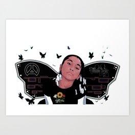 Buttafli Art Print