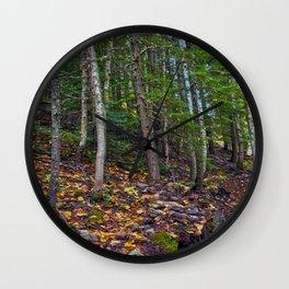 Mt Revelstoke Trail II Wall Clock