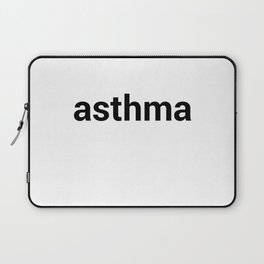 asthma Laptop Sleeve