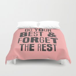 do your best Duvet Cover
