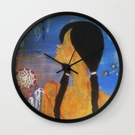 That Girl #4 Wall Clock