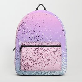 Sparkling UNICORN Girls Glitter Heart #1 #shiny #pastel #decor #art #society6 Backpack