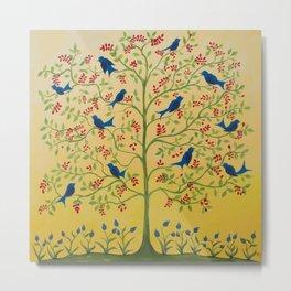 For the Blue Birds Charlene Metal Print