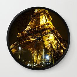 Eiffel tower, Paris. Wall Clock