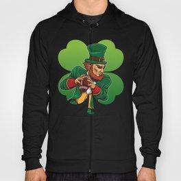 American Football Leprechaun - Lucky Irish Hoody