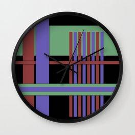 Abstract #407 Wall Clock
