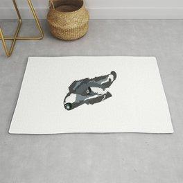 Grey Dog Rug
