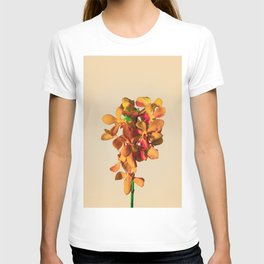 Minimal Orchids and Colors T-shirt