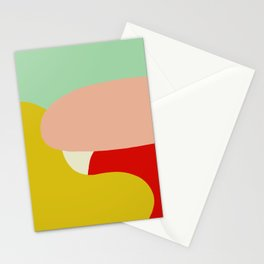 creativ colorful retro design Zamzummin Stationery Cards
