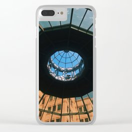 Dome Ceiling Kleman's Plaza Clear iPhone Case