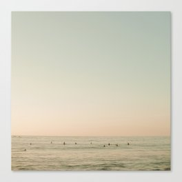 Surf Sayulita Mexico Canvas Print