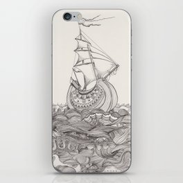 On the sea iPhone Skin