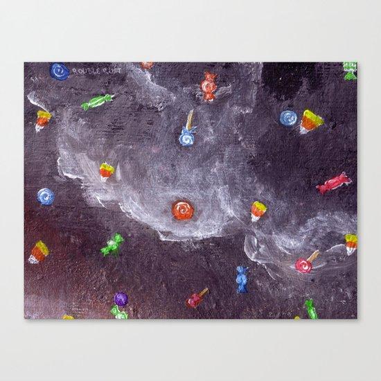 Candy Rain Canvas Print