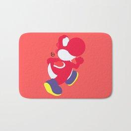 Yoshi(Smash)Red Bath Mat