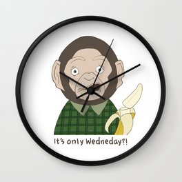 It's only Wednesday?! Wall Clock