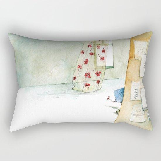 Runway Princess  Rectangular Pillow