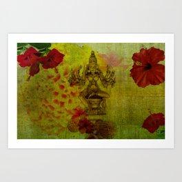 Divine Series 1: Ashtangini Art Print