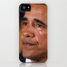 Angry Tears iPhone Case