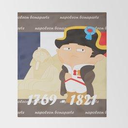 Napoleon Bonaparte Throw Blanket