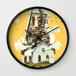GOSPEL MUSIC ENGINE Wall Clock