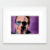 american psycho Framed Art Prints featuring American Psycho by sbs' things