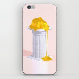 Golden Misery iPhone Skin