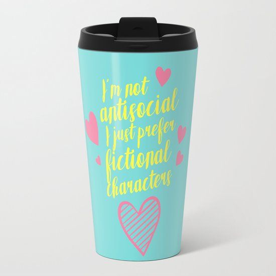 NOT ANTISOCIAL Travel Mug