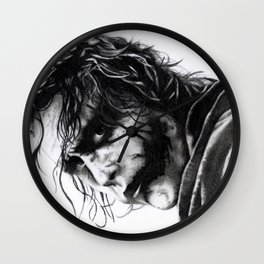 The joker - Heath Ledger Wall Clock