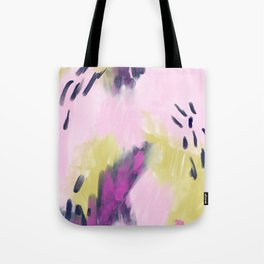 Painted Strokes Tote Bag