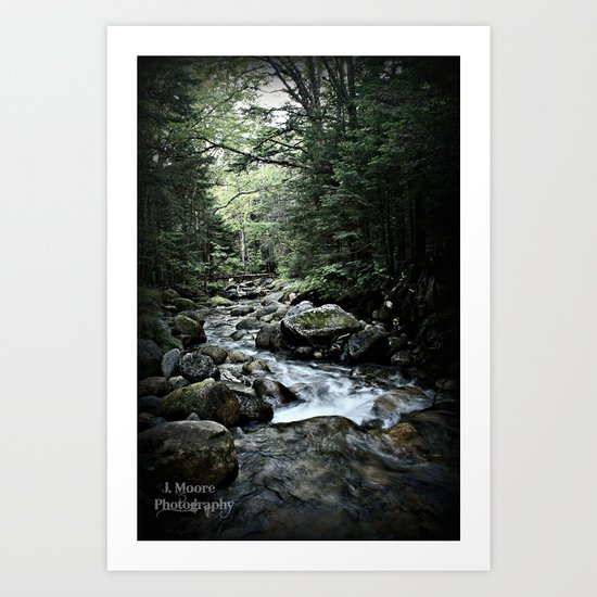 Peace.Serenity Art Print
