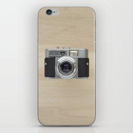voigtlander vitomatic II - vintage camera  iPhone Skin