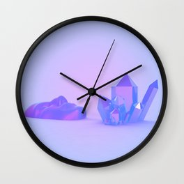 Each of Us is a Place Wall Clock