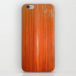 ORANGE STRINGS iPhone Skin