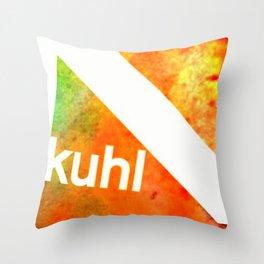 Kuhl Throw Pillow