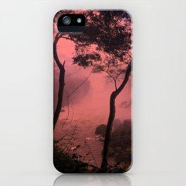 pink iguazu iPhone Case