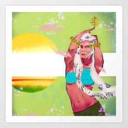 Solar Artifakt Solar Art Print