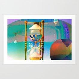 Tétrodlabel Art Print