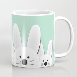 Spying Bunnies Coffee Mug