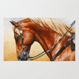 Western Sorrel Quarter Horse Rug
