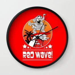 Republican Elephant Red Wave Midterm Vote 2018 Wall Clock