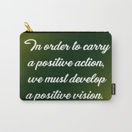 Positive Action Carry-All Pouch