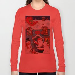 Santa's House Long Sleeve T-shirt