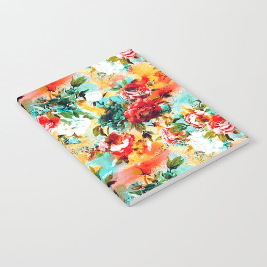 Floral Camouflage Notebook