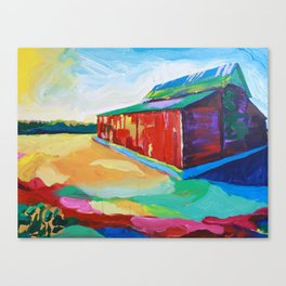 Barn. Canvas Print