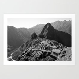Machu Picchu v.2 Art Print