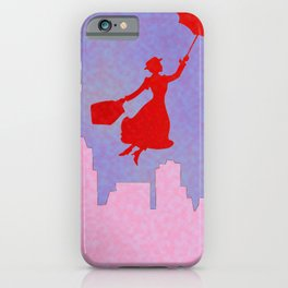 Girlie Miss Poppins  iPhone Case