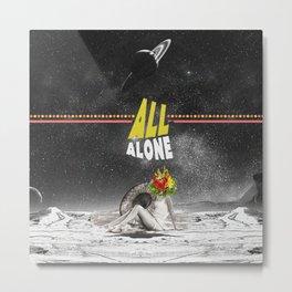 All Alone Metal Print