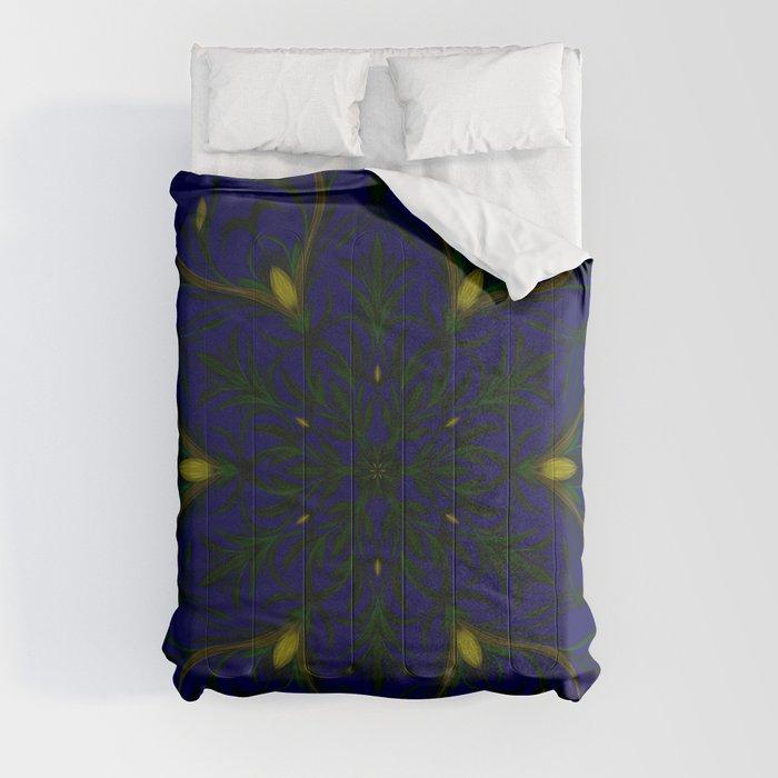 Sea of Shining Seaweed Comforters